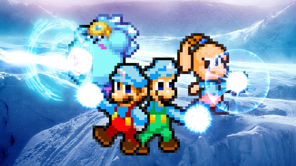 Powerup #03 - Ice Heroes by KingAsylus91