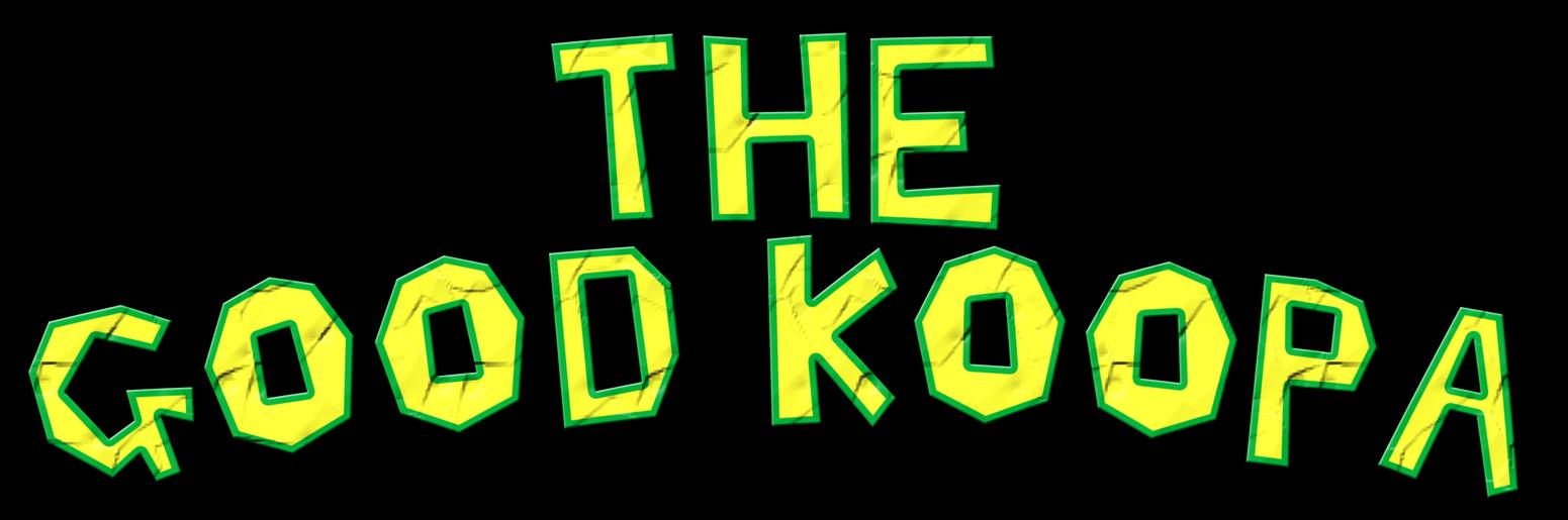 The Good Koopa Logo