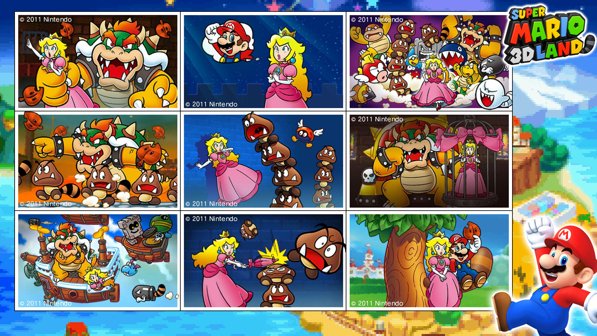 Super Mario 3d Land Photo Album By Asylusgoji91 On Deviantart