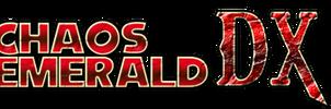 Chaos Emerald DX Logo by AsylusGoji91