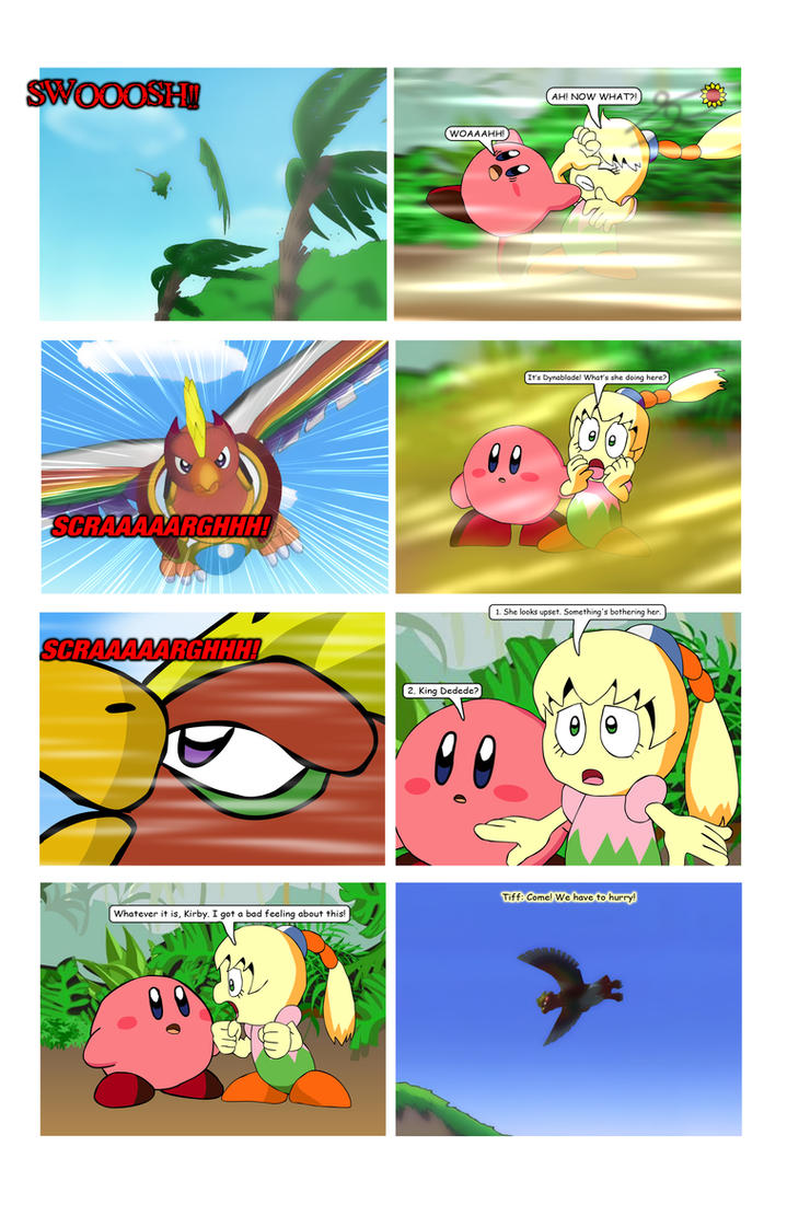 Kirby WoA Page 140 by KingAsylus91