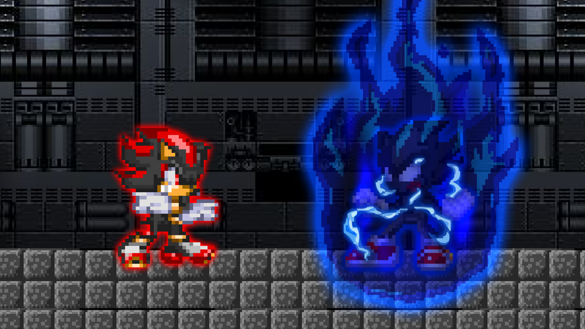 REQUEST - Dark Sonic Transformation by KingAsylus91