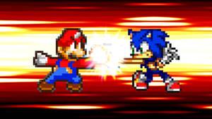 Request - Mario vs. Sonic