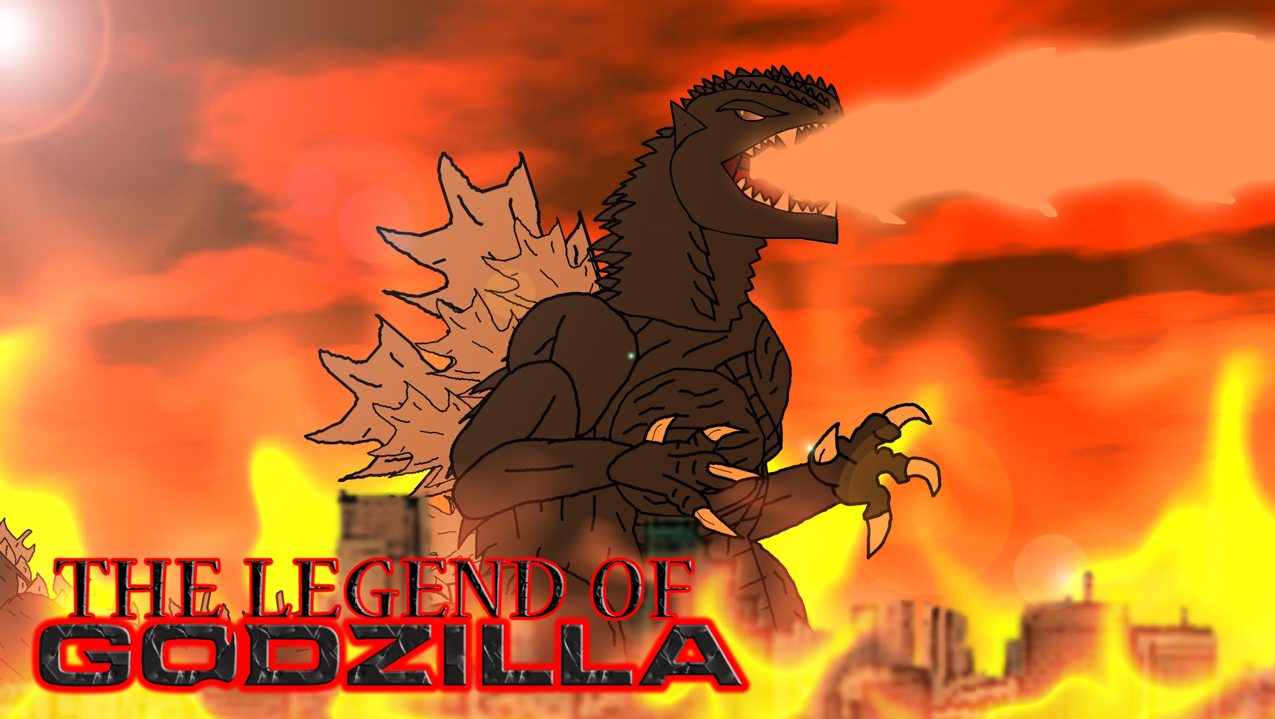 The Legend of Godzilla by KingAsylus91