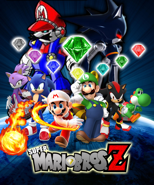 Super Mario Bros Z Season 2 Poster By AsylusGoji91 On