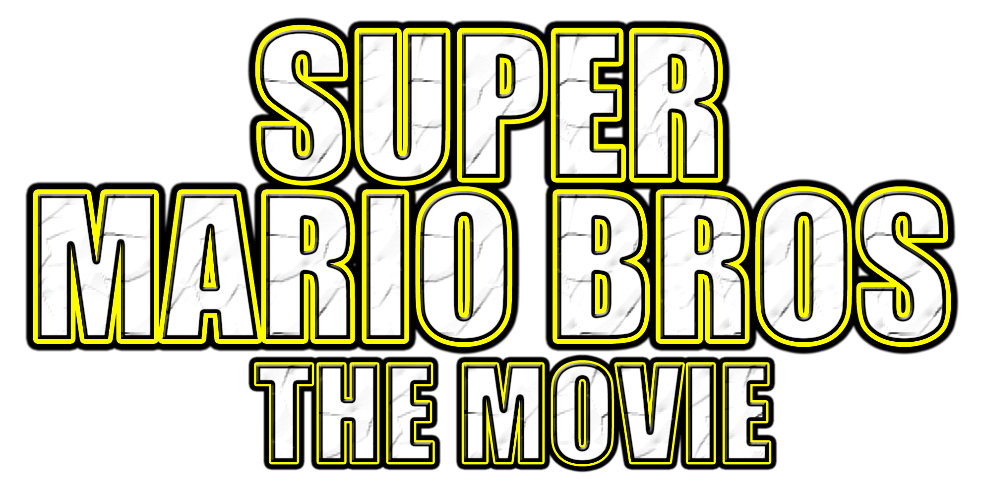 Super Mario Bros The Movie Logo By Asylusgoji91 On Deviantart