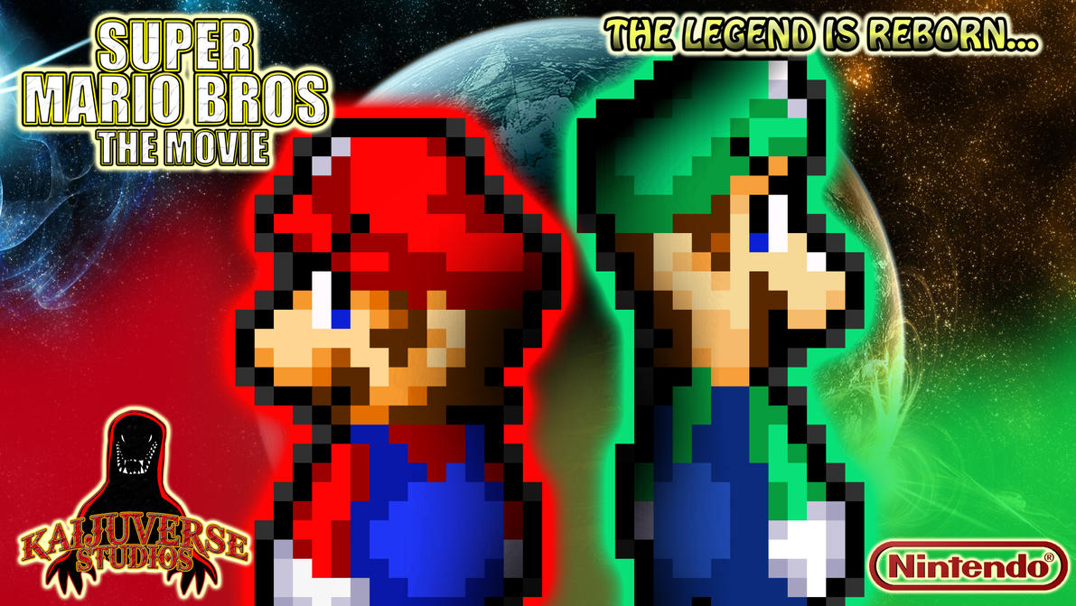 Super Mario Bros The Movie Teaser Poster by KingAsylus91