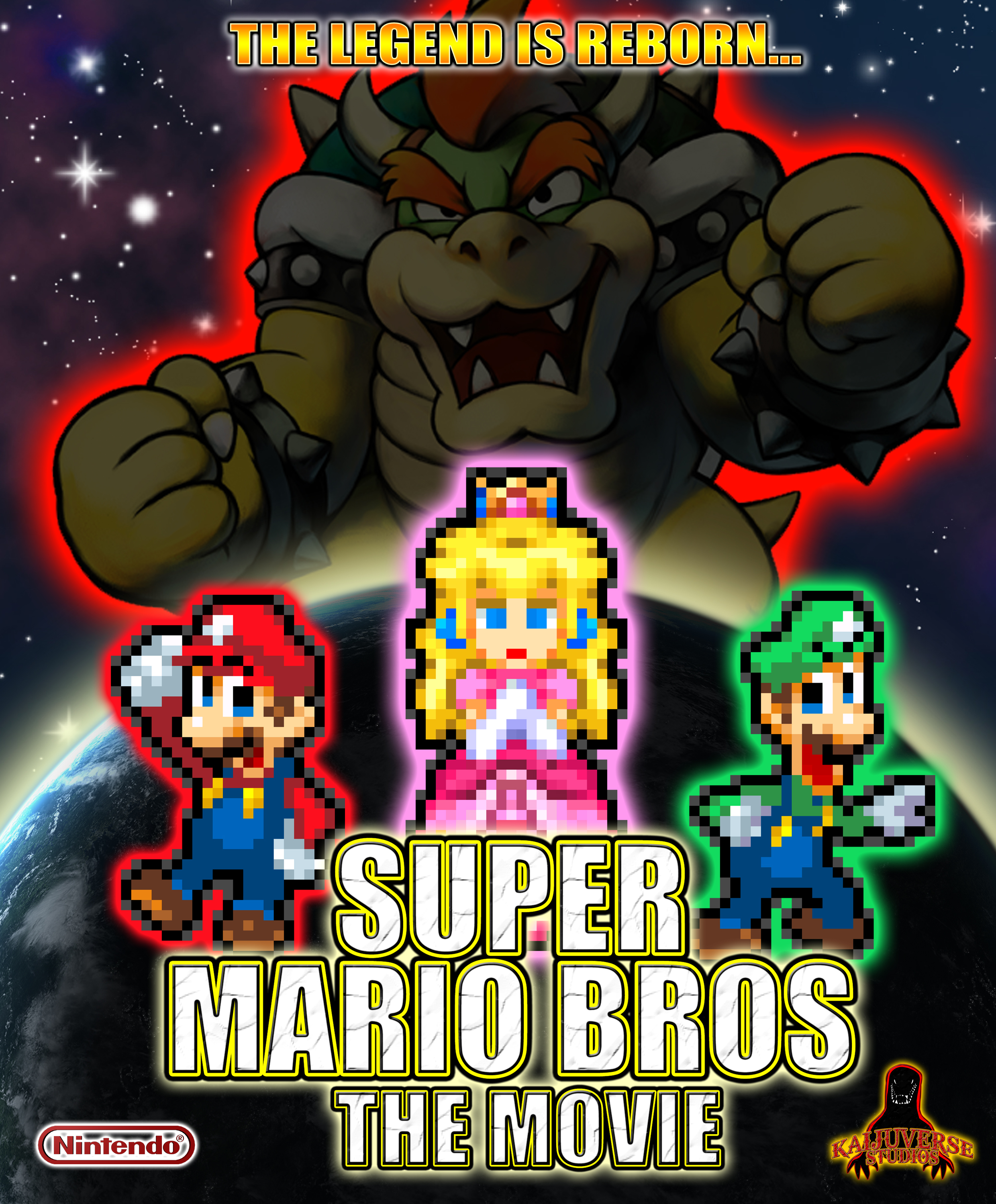 Super Mario Bros The Movie Final Poster by AsylusGoji91