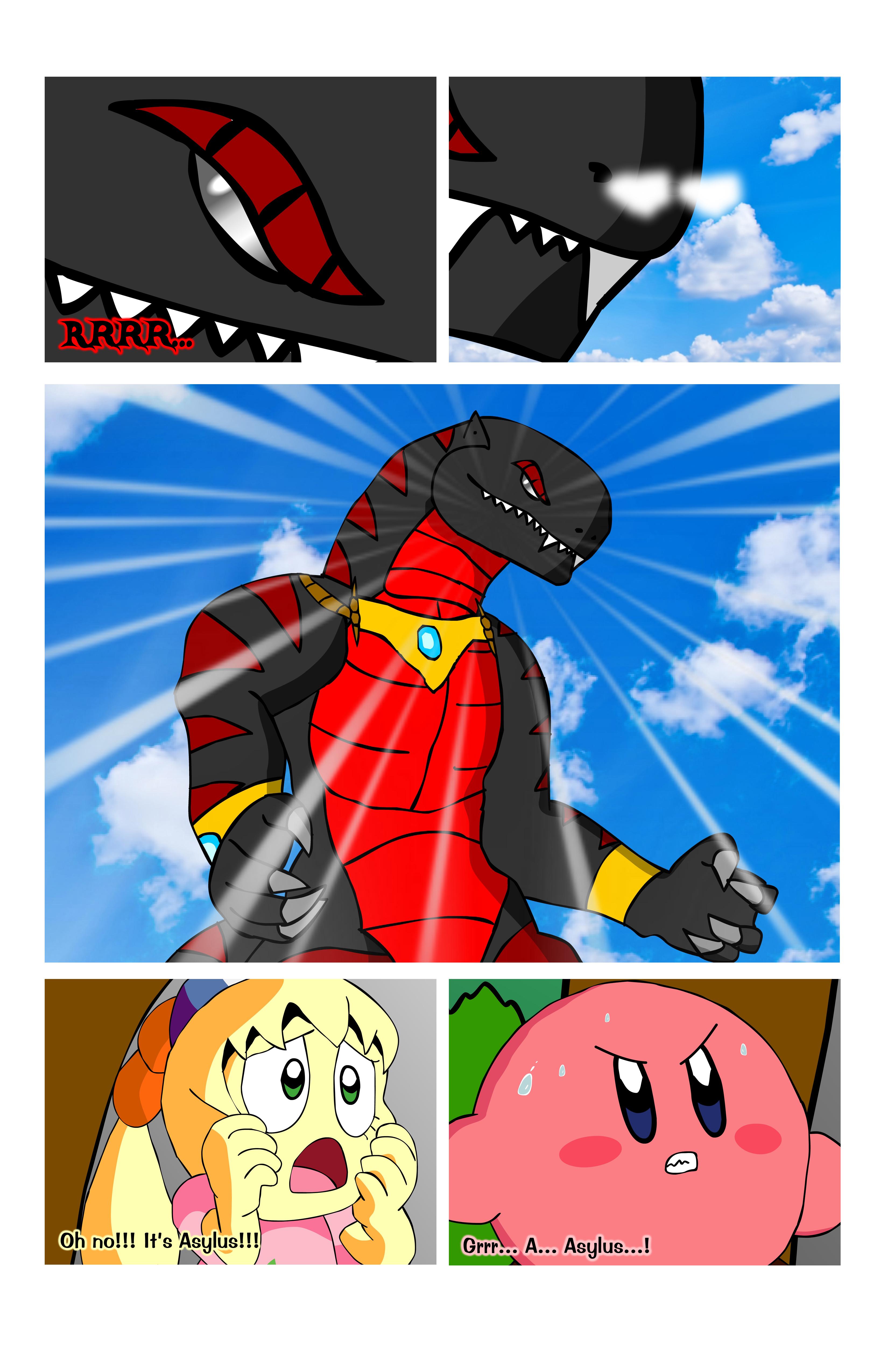Kirby WoA Page 142 by KingAsylus91