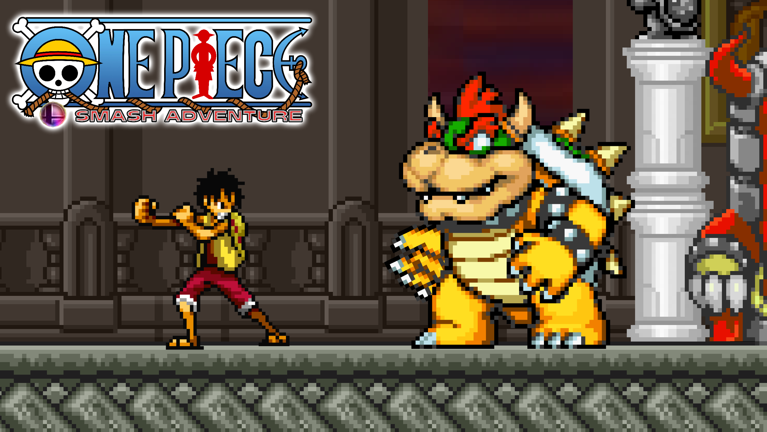 OPSA - Luffy vs. Bowser by KingAsylus91