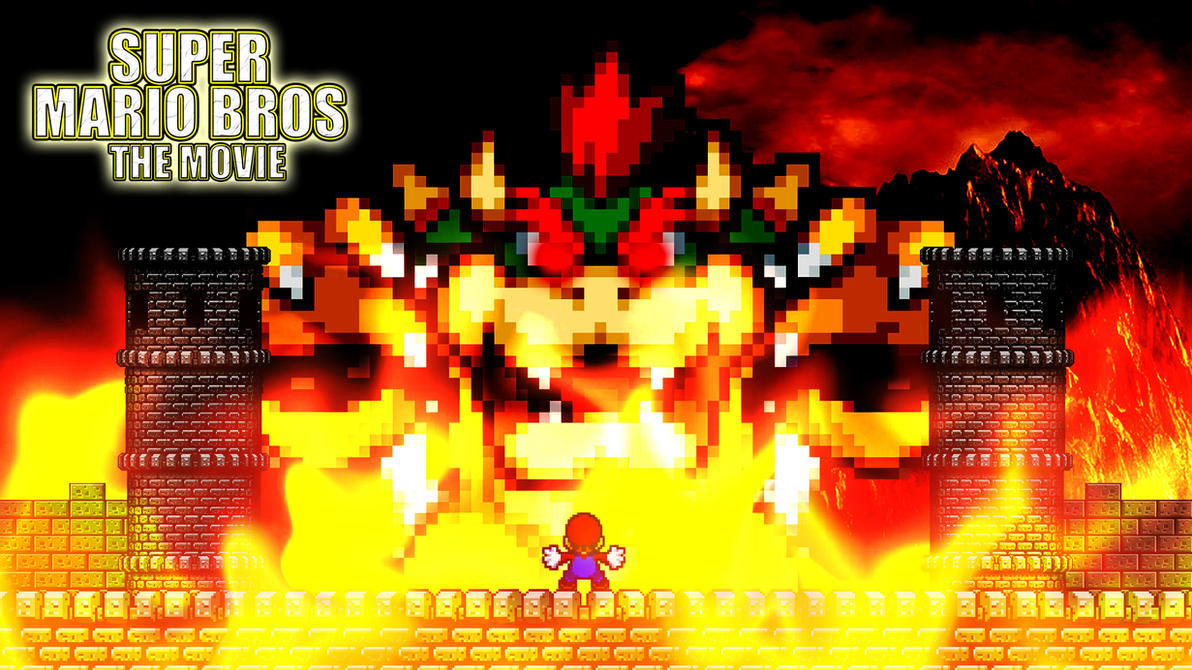 SMB The Movie - Mario and Giant Bowser by KingAsylus91