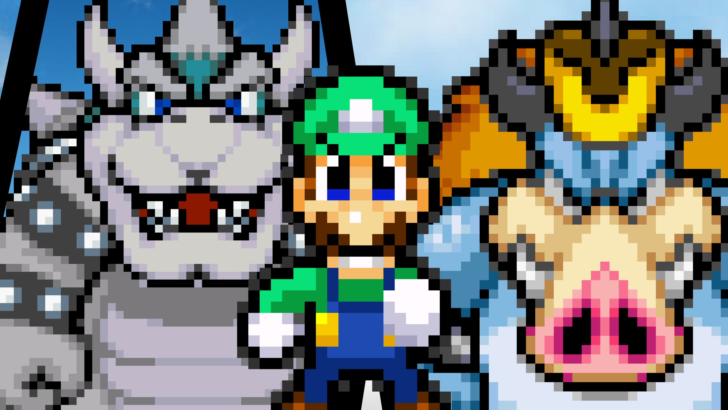 Luigi's Double Opponents by KingAsylus91