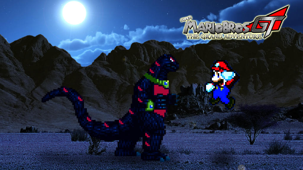 Mario vs. Asylus by KingAsylus91