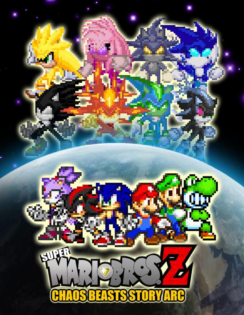 SMBZ Chaos Beasts Story Arc by KingAsylus91