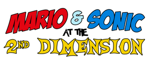 Mario And Sonic At The 2nd Dimension Logo