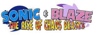 Sonic and Blaze The Rise of Chaos Beasts Logo