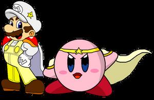 Request - Mario's and Kirby's Ancestors by AsylusGoji91
