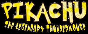 Pikachu The Legendary Thundermouse Logo