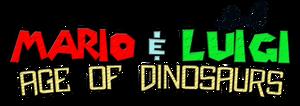 Mario and Luigi Age of Dinosaurs Logo