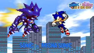 Battle #01 - Sonic vs. Mecha Sonic