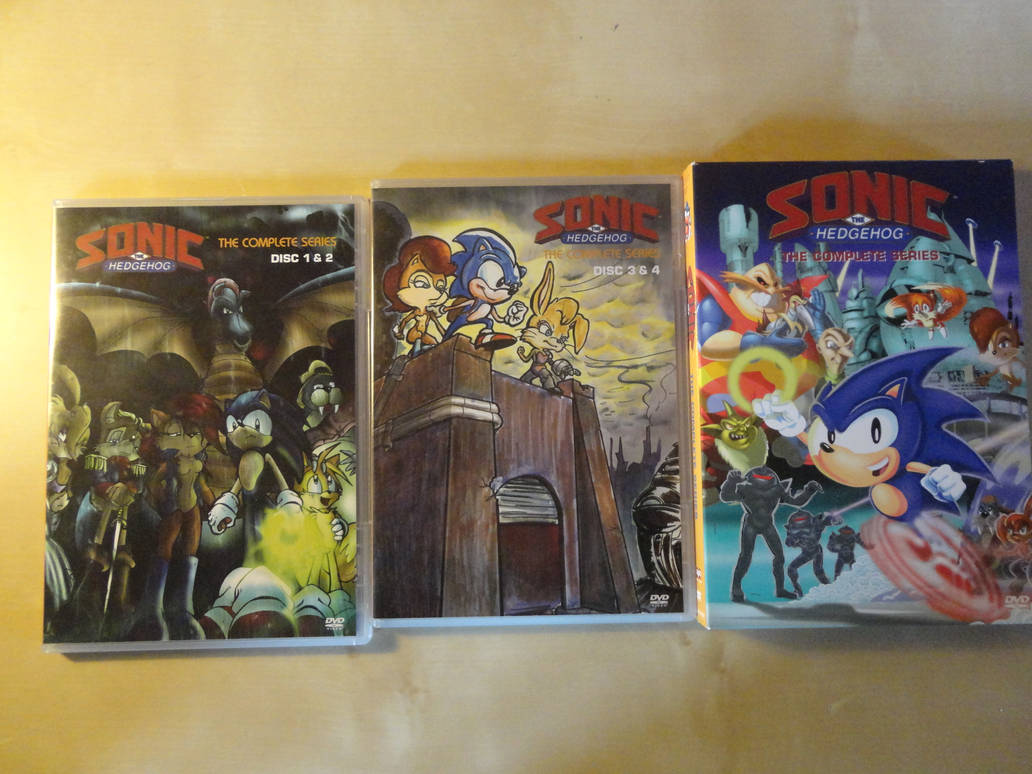 Sonic The Hedgehog The Complete Series Dvd By Asylusgoji91 On