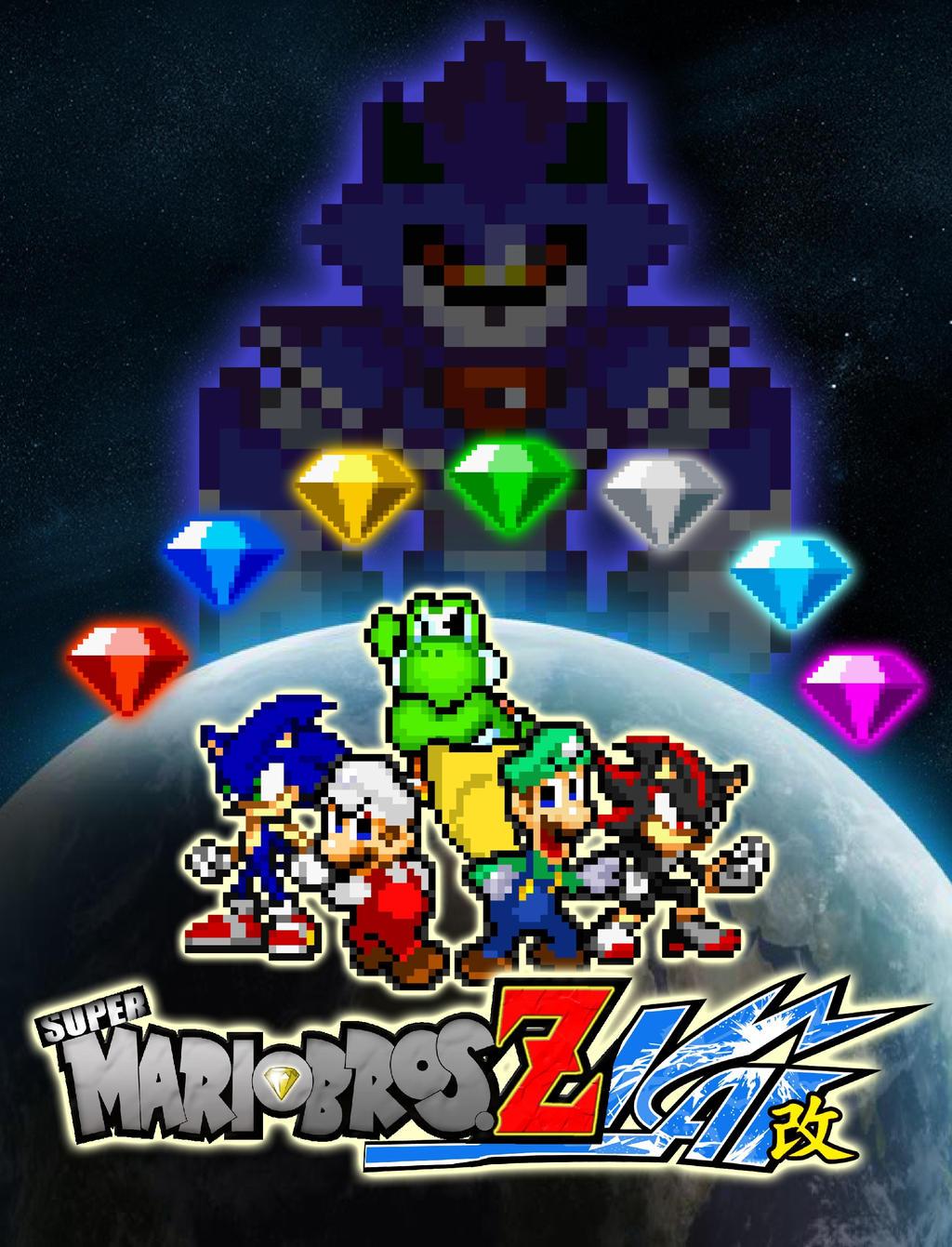 Request - Super Mario Bros Z Kai Poster by KingAsylus91