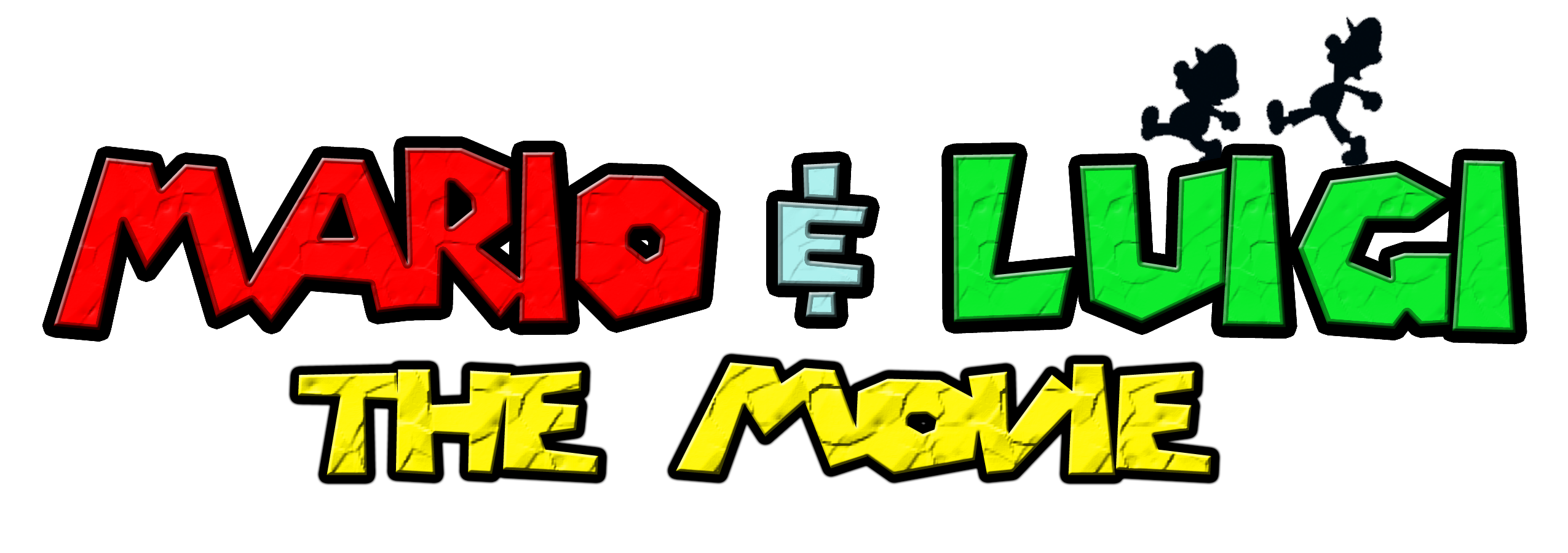 Mario And Luigi The Movie Logo By Kingasylus91 On Deviantart