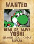 Wanted Poster 03 - Yoshi