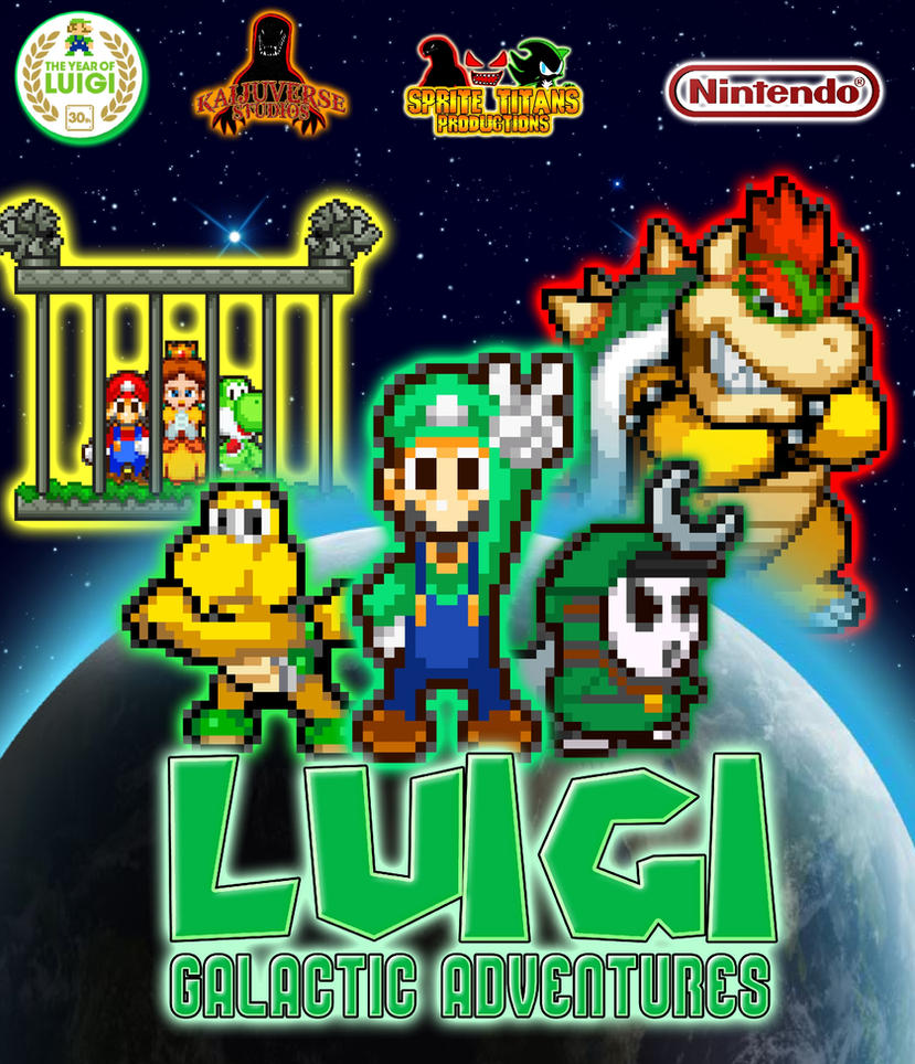 Luigi galactic adventures poster by heiseigoji91 on deviantart - Spore galactic adventures wallpaper ...