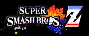 Super Smash Bros Z Revamped Logo by AsylusGoji91
