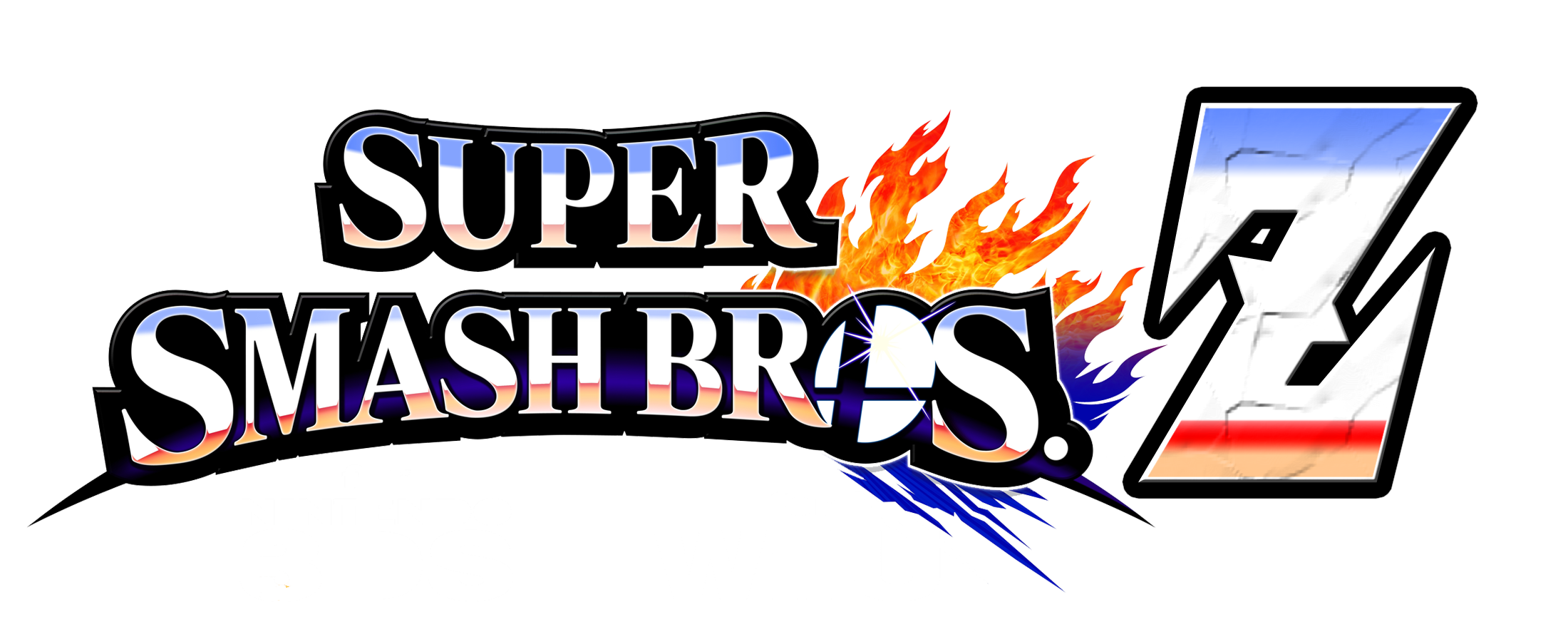 Super Smash Bros Z Revamped Logo by KingAsylus91