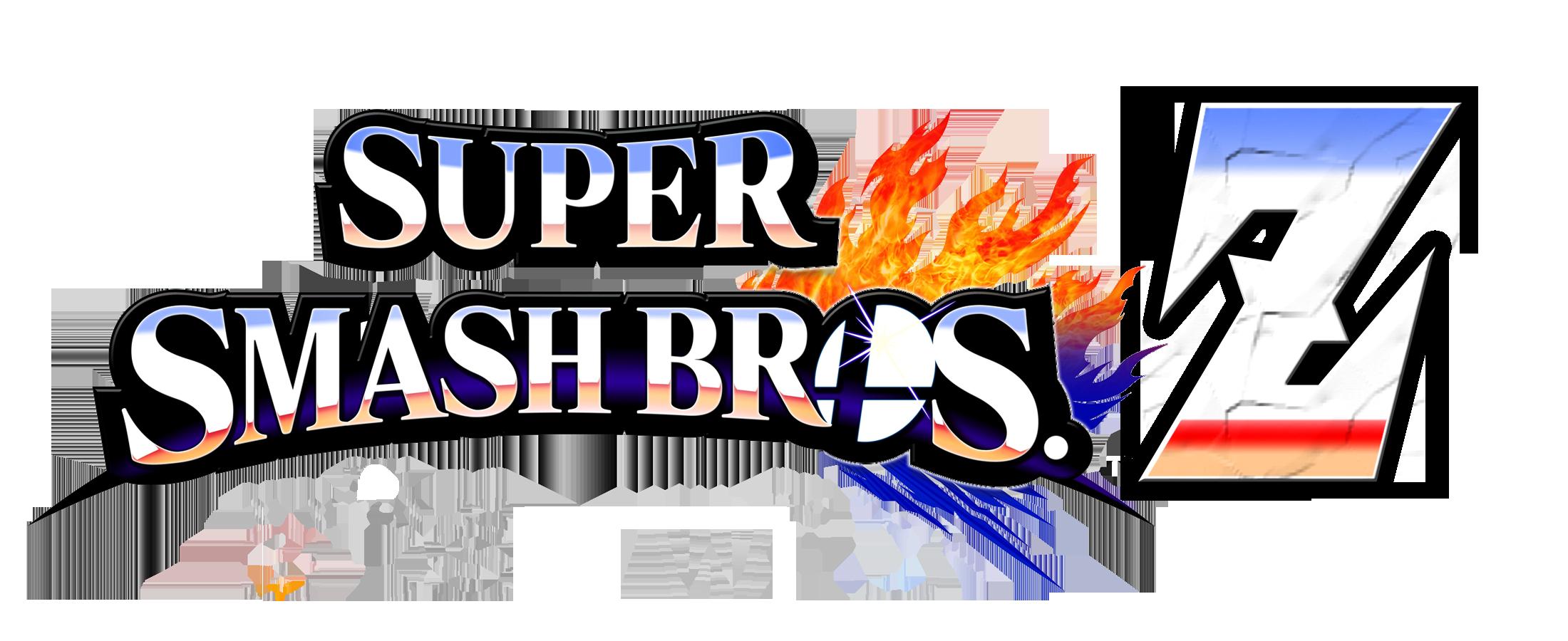 Super Smash Bros Z Revamped Logo by KingAsylus91