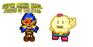 Geno and Mallow in SMB-HotS