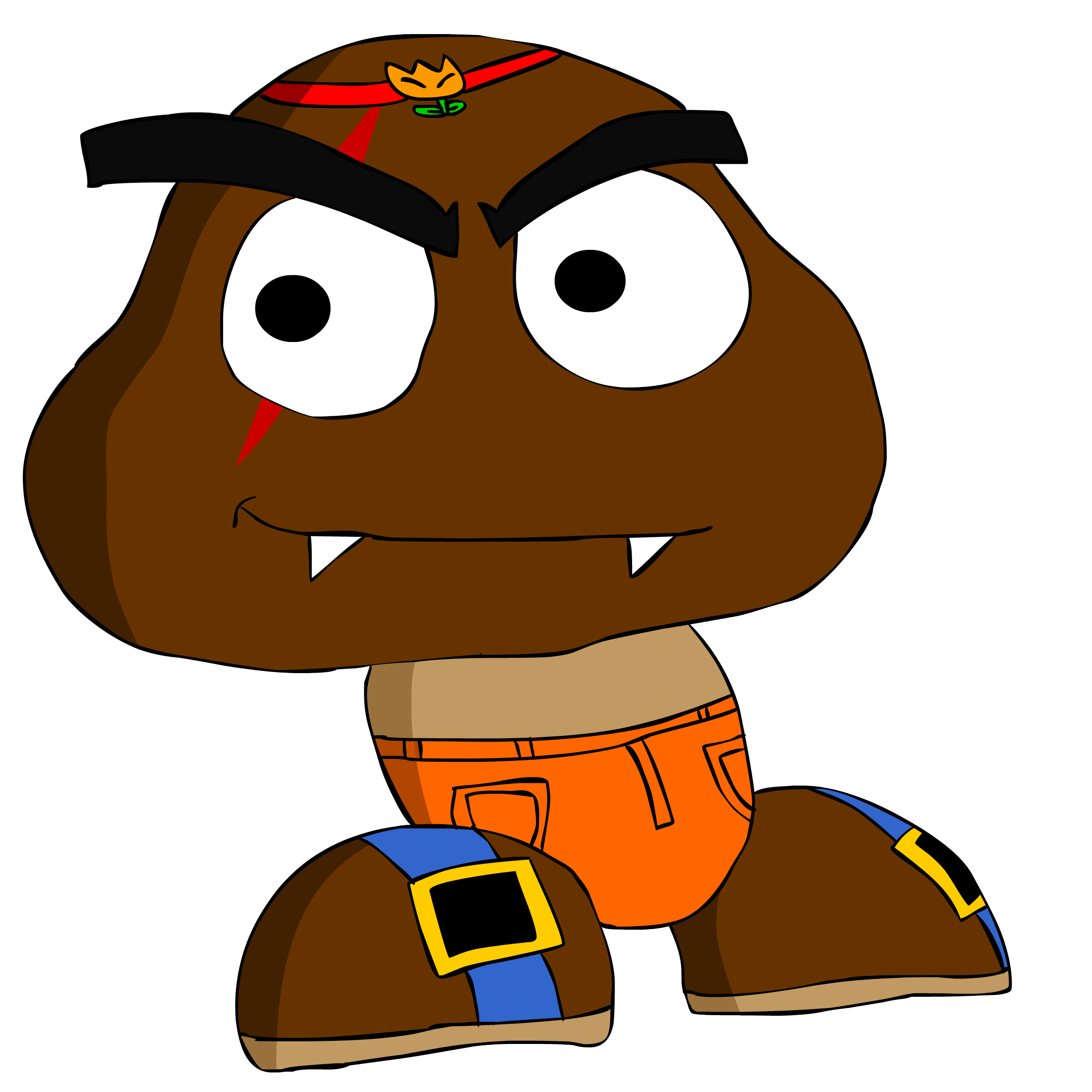 Tony Goomba An Friend Of Mario Bros By Asylusgoji91 On Deviantart