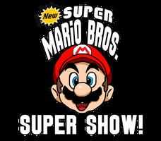 New Super Mario Bros. Super Show Logo by AsylusGoji91