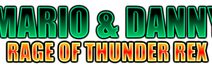 Mario and Danny Rage of Thunder Rex Logo