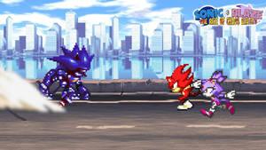Battle #03 - Sonic and Blaze vs. Mecha Sonic