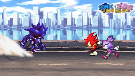 Battle #03 - Sonic and Blaze vs. Mecha Sonic by AsylusGoji91