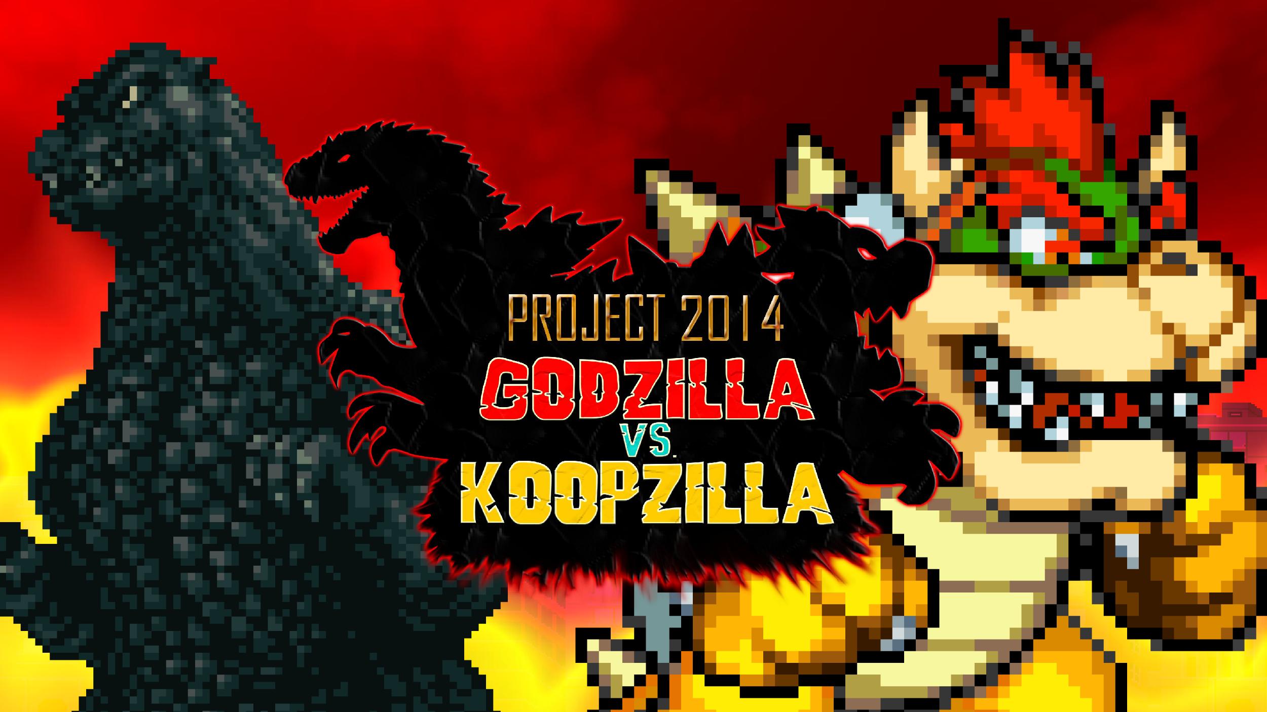 Godzilla vs. Koopzilla Teaser Trailer Pic by KingAsylus91