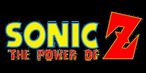 Sonic The Power of Z Logo by AsylusGoji91