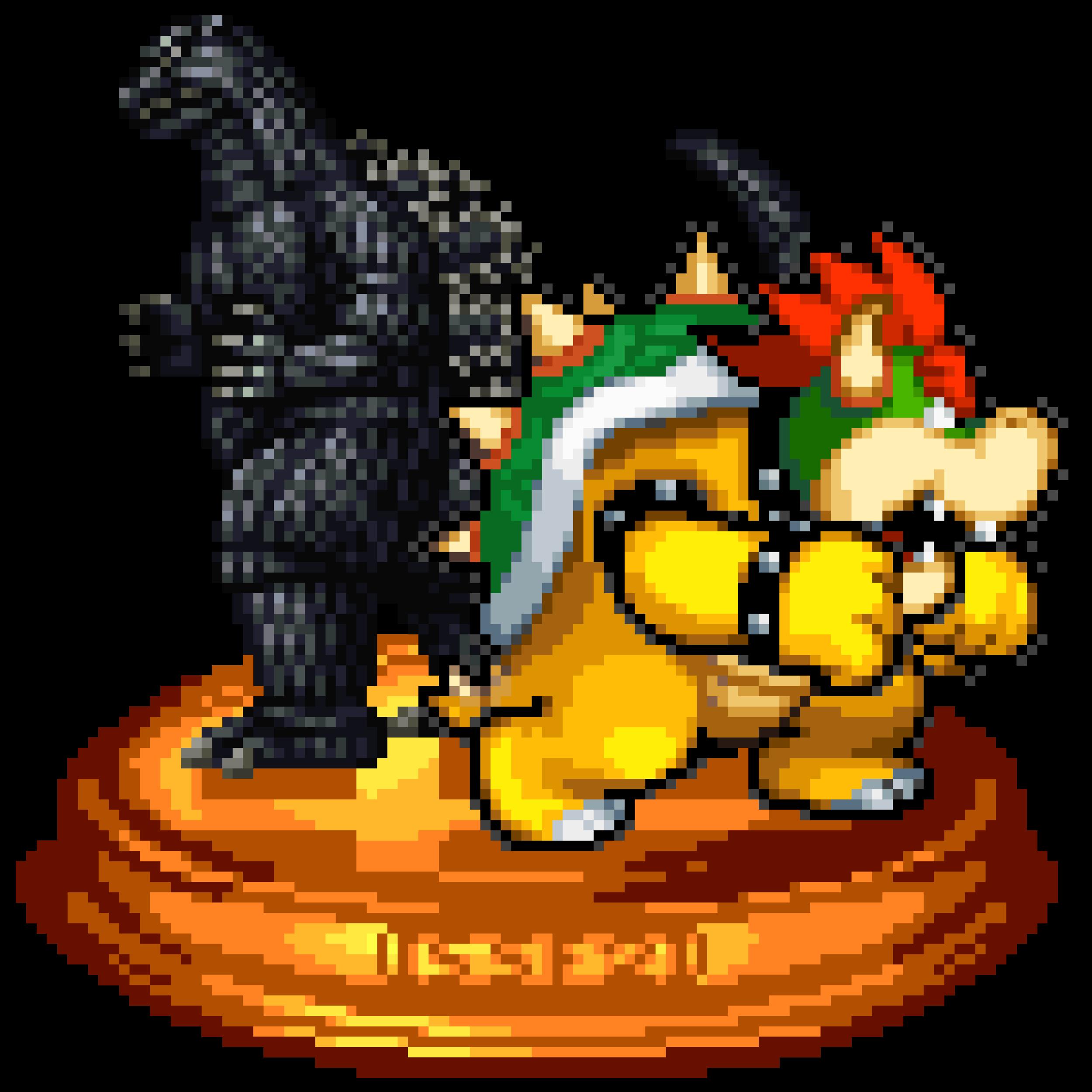 Godzilla vs. Koopzilla Trophy by KingAsylus91