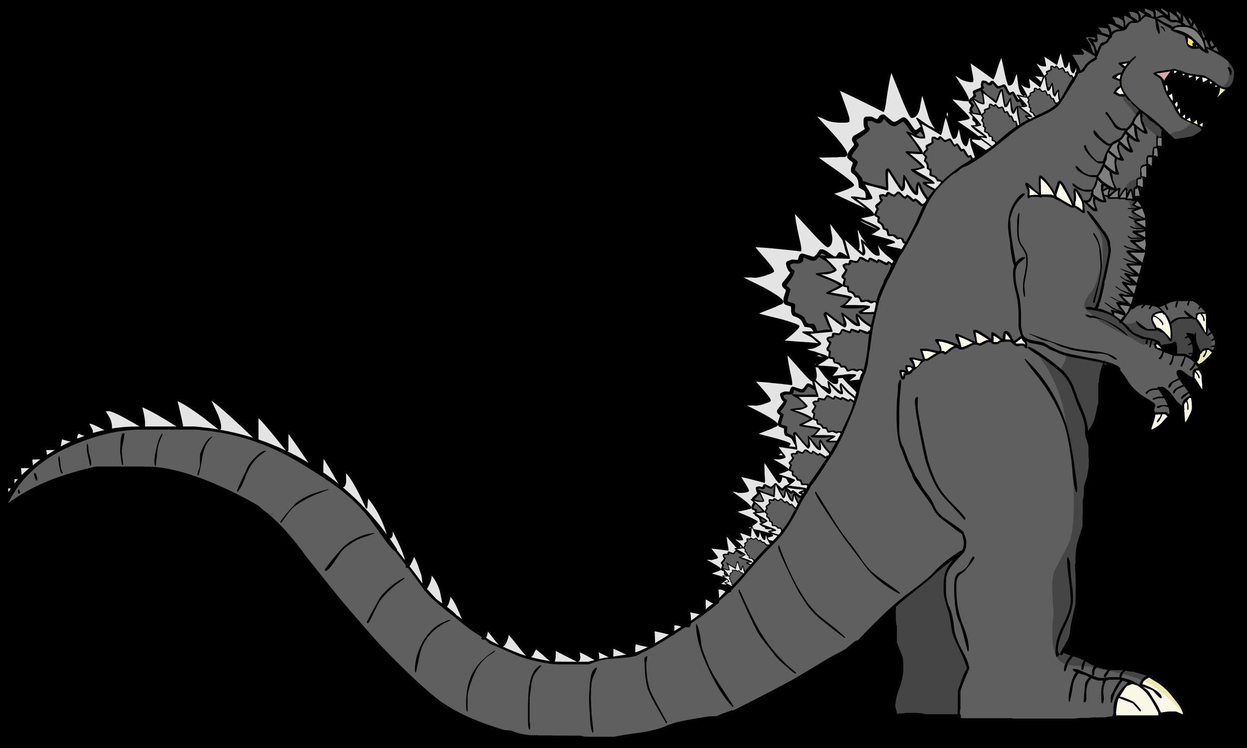 Godzilla's Design (The Wrathful God) by KingAsylus91