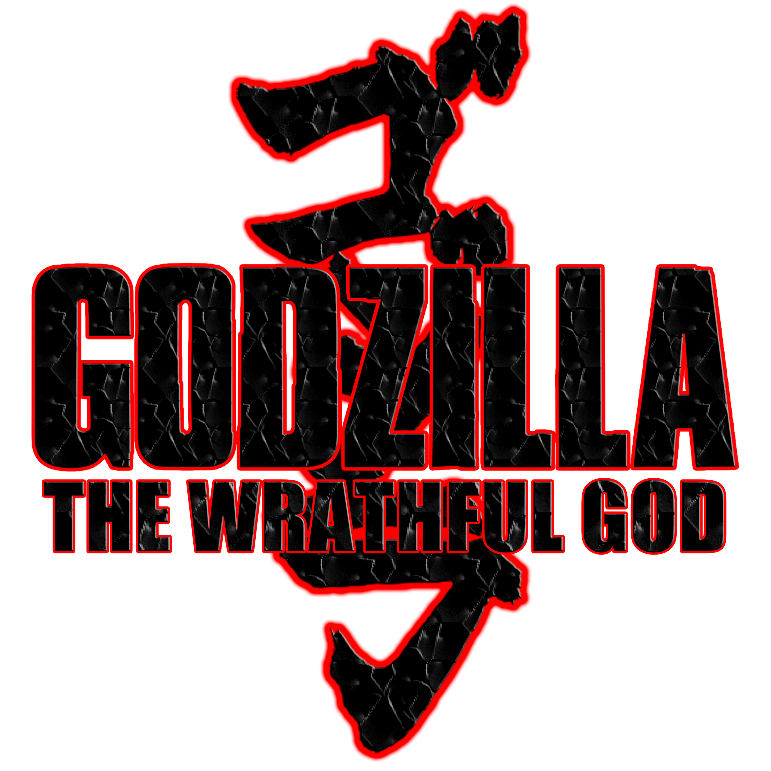 Godzilla The Wrathful God Alternative Logo