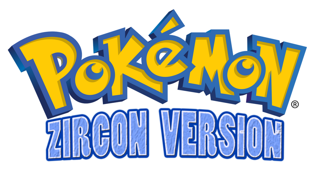 Pokemon Zircon Logo