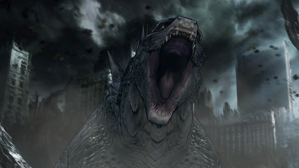 Godzilla 2014 Scene Recreation by KingAsylus91