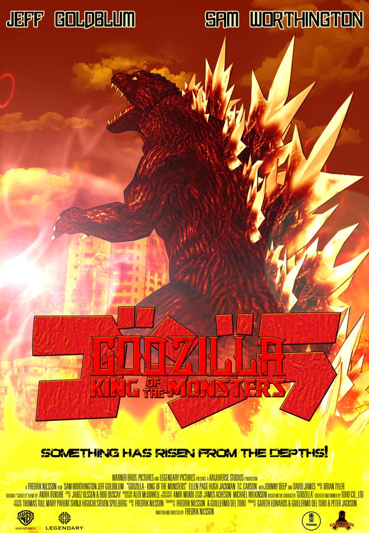 Godzilla King Of The Monsters Poster Godzilla - King...