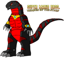 SMB Heroes of the Stars - Asylus Design by AsylusGoji91