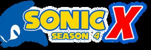 Sonic X Season 4 Logo by AsylusGoji91