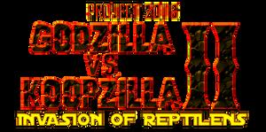 Project 2016 Godzilla vs. Koopzilla II Logo