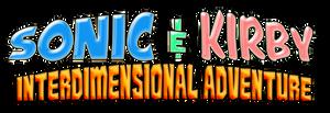 Sonic and Kirby Interdimensional Adventure Logo